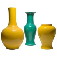 Vintage Midcentury Japanese Ceramic Lamps