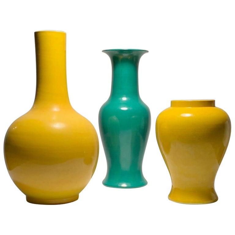 Vintage Midcentury Japanese Ceramic Lamps For Sale