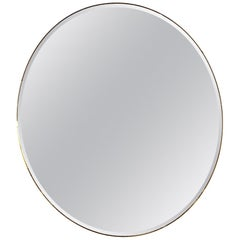 1930s Art Deco Beveled Mirror
