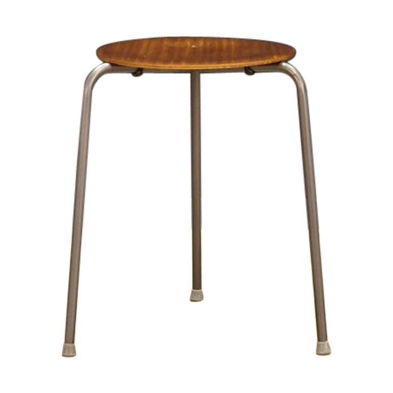 Classic Stool Danish Design, 1960-1970 For Sale