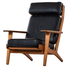 Hans Wegner Easy Chair Model GE-290 by GETAMA in Denmark