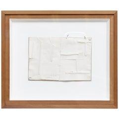 Jordi Alcaraz Contemporary Abstract Minimalist White Artwork, 2019