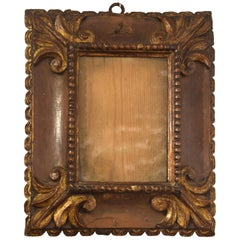 Frame, Carved Wood, Metal, 17th Century