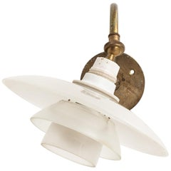 Poul Henningsen Wall Lamp Model PH-1/1 by Louis Poulsen in Denmark