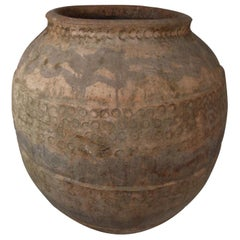 18th Century Red Clay Spanish Jar, Tinaja-