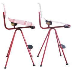 Pair of Bar Stools Miro by Carlo Forcolini, 1980s