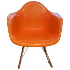 Eames RAR Herman Miller Zenith Rope Edge Rocking Chair Midcentury Masterpiece