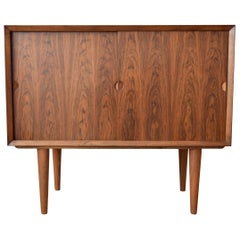 Danish Midcentury Cado Rosewood Bar/LP Record Cabinet by Poul Cadovius, 1965