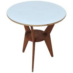 Midcentury Italian Coffee Table in Gio Ponti Style, 1950s