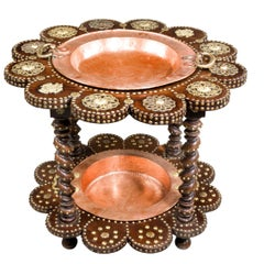 Late 19th Century Two-Tier Cooking Étagère