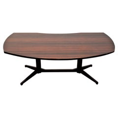 Franco Albini 1950 Century Modern Rosewood Desk Table