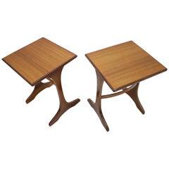Pair of Midcentury Tables G-Plan, Victor Wilkins, Denmark, 1960s