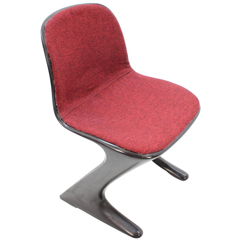Midcentury Kangaroo Chair Designed by Ernst Moeckl, Germany, 1968 For Sale