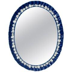 Italian Venetian Porcelain Mirror