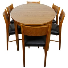 1960s Design and Scandinavian Style Dining Set
