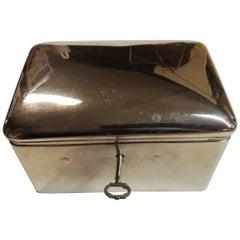 Antique Sterling Silver Sugar Box
