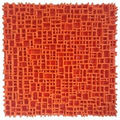 Contemporary Art, Minimal and Zero Art, Acrylic Fiber Weave Sculpture