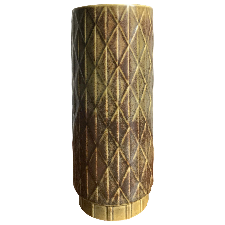 1960s Gunnar Nylund Scandinavian Midcentury Vase for Rörstrand