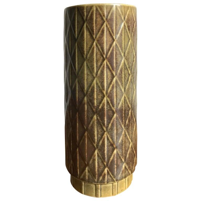 1960s Gunnar Nylund Scandinavian Midcentury Vase for Rörstrand For Sale