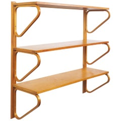 Alvar Aalto Shelves in Birch by Artek, Sweden