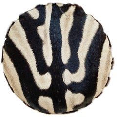 Zebra Hide Squab Pillow
