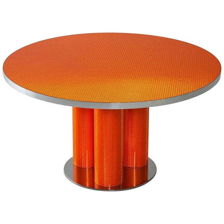 "Modern Table ""Reflector Collection"" by Sebastiano Bottos, Italia For Sale"