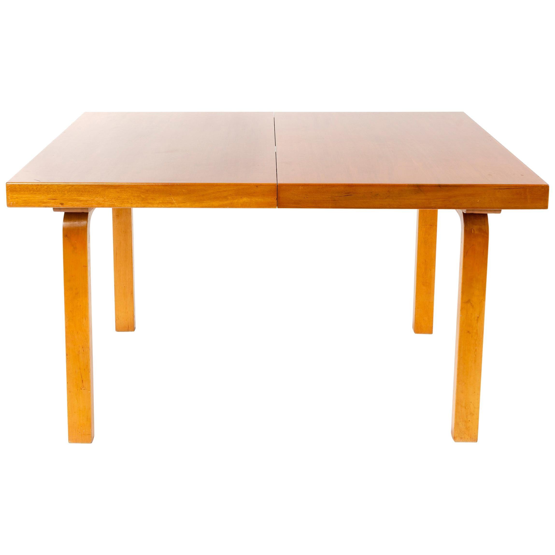 1940s Finnish Birch Extention Table by Alvar Aalto for Artek