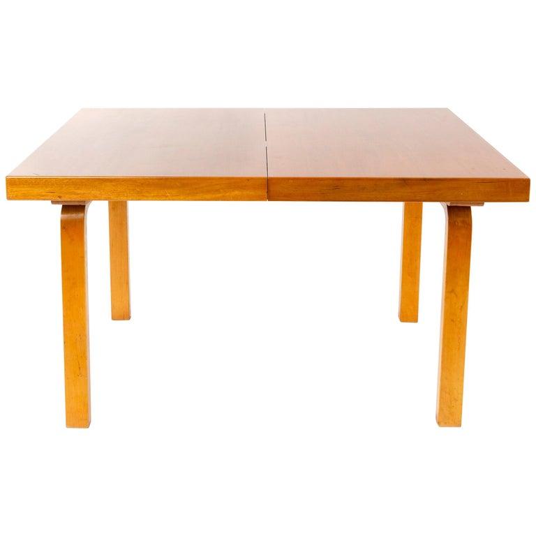 1940s Finnish Birch Extention Table by Alvar Aalto for Artek For Sale