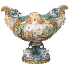 Late 18th Century Italian Faience Jardiniere
