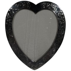 Antique Gorham Sterling Silver Valentine's Day Heart Picture Frame