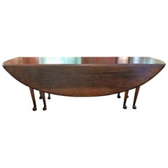19th Century Irish Oak Wake Table