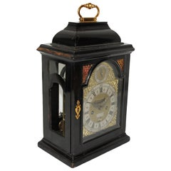 Early 18th Century Francis Gregg English Bracket Clock