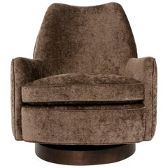 Swivel Lounge Chair by Milo Baughman for Thayer-Coggins