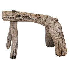 19th Century Primitive Mexican Milking Stool