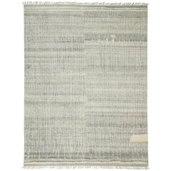 New Contemporary Gray Moroccan Style Rug with Organic Modern Style Hygge Vibes