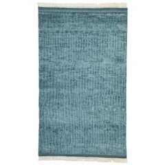 New Contemporary Beach Hygge Moroccan Rug with Modern Cape Cod Style
