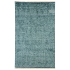 New Contemporary Moroccan Rug with Modern Cape Cod Style and Beach Hygge Vibes