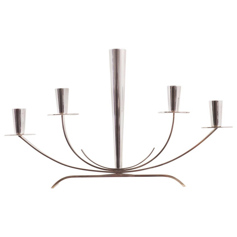 Candelabra from Ystad Metall in Sweden For Sale