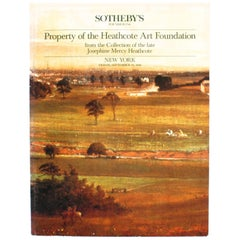Sotheby's the Heathcote Art Foundation Collection of Josephine Mercy Heathcote