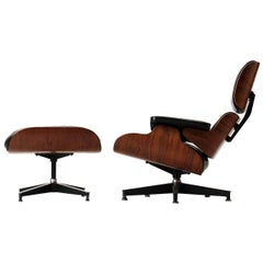 Eames Leather Lounge Chair and Ottoman