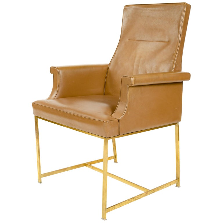 High Back Armchair by Jules Wabbes For Sale