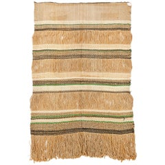 Woven Jute and Chenille Wall Tapestry by Maria Kipp