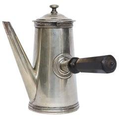 Hotel Silver Chocolate Pot