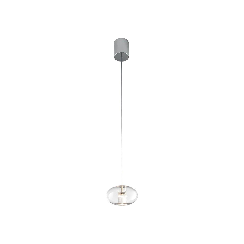 Leucos Fairy S G LED Pendant Light in Transparent and Chrome