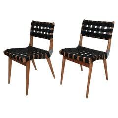 Australian Modern Douglas Snelling Chairs with Original 1955 Saran Nylon Webbing