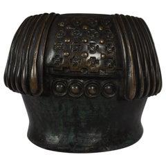 Gustav Gurschner Vienna Secession Bronze Vase