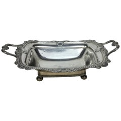 Regency Sheffield Plate English Fruit Basket, circa 1830
