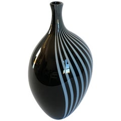 Lino Tagliapietra Murano Glass Vase Model Giano F3 International, italy