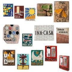 Ceramic Tiles INA-CASA Italy 1949-1963