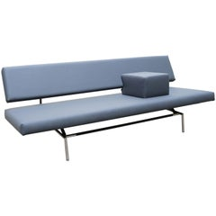 Dutch Design Sofa / Daybed BR02 by Martin Visser for Spectrum 1960s Grey Chrome